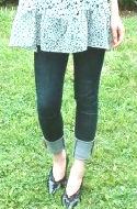 ビックリするほど細身のジーンズが履けるようになりました!